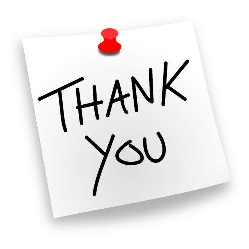 Ανακοίνωση – Ενημέρωση – Ευχαριστήριο μήνυμα