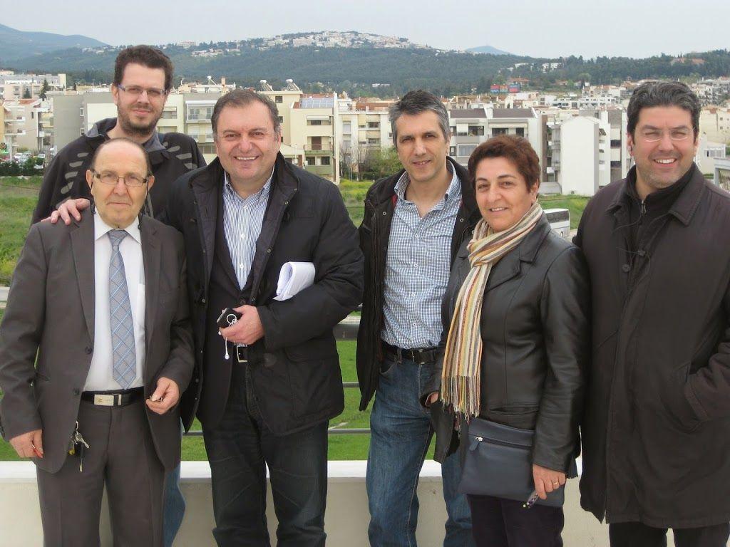 Συνάντηση με τον Δήμαρχο Πυλαίας Χορτιάτη για θέματα που αφορούν τον οικισμό