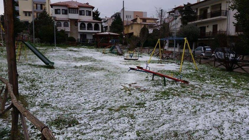 Χιόνια στα Κωνσταντινουπολίτικα