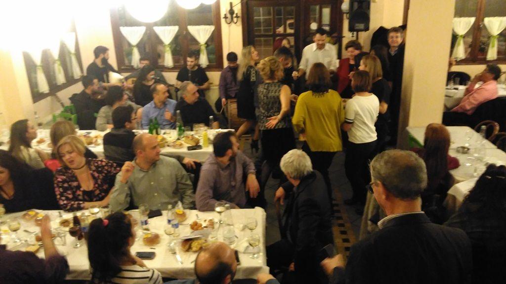 Η υπέροχη βραδιά της κοπής βασιλόπιτας