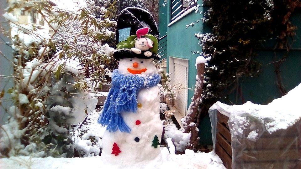 Όμορφες εικόνες από τον χιονισμένο Συνοικισμό Κωνσταντινουπολιτών! (4-5/1/2019)